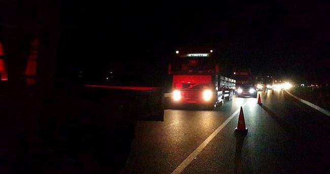 Manisa'da otomobilin çarptığı çift öldü