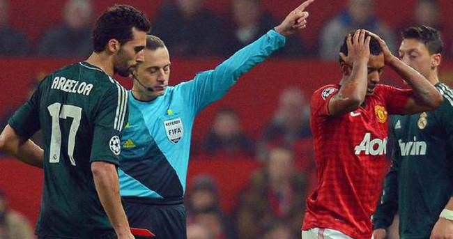 Cüneyt Çakır ve Nani o maçtan sonra ilk kez...