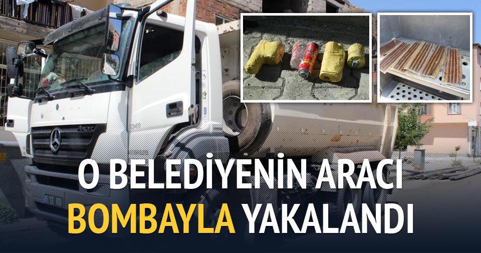 Askerimizi şehit eden bombalar HDP'li belediyeden