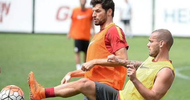 Galatasaray'da tek eksik Hamit