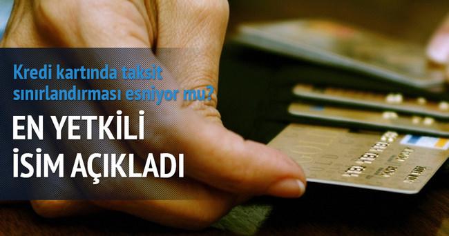Kredi kartında taksit sınırlaması esneyebilir
