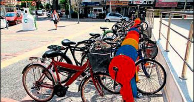 Bisikletli parklar beğeni topladı