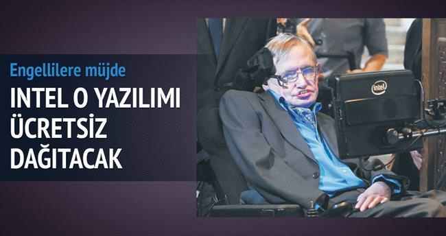Hawking'i konuşturan yazılım artık bedava