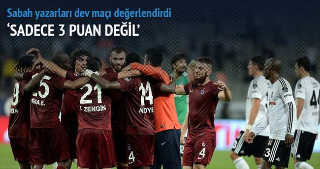 Usta yazarlar Beşiktaş-Trabzonspor maçını yorumladı