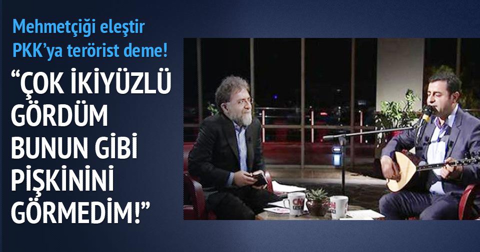 Mehmetçiği eleştir PKK'ya terörist deme!
