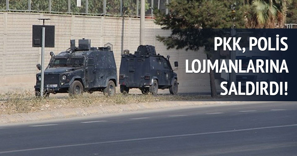 PKK'dan polis lojmanlarına saldırı