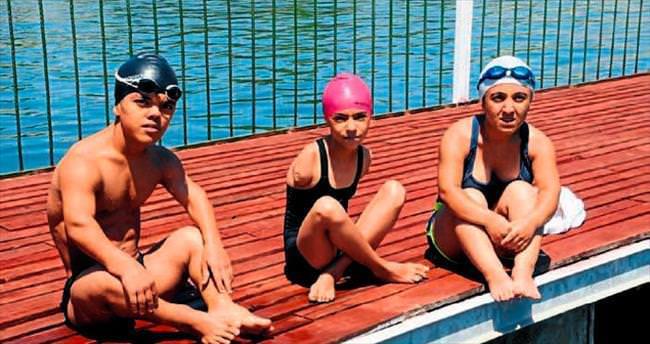Engelli sevilay'ın hedefi olimpiyat