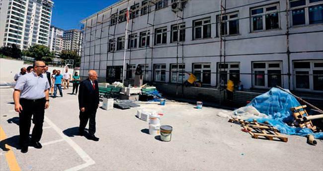 Okullar 28 Eylül'e kadar temizlenecek