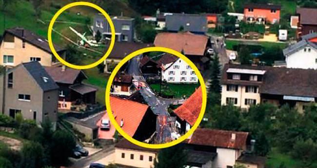 İki gösteri uçağı havada çarpıştı