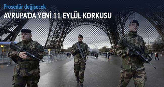 Avrupa'da yeni 11 Eylül korkusu