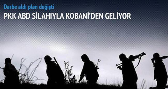 PKK, ABD silahıyla Kobani'den geliyor