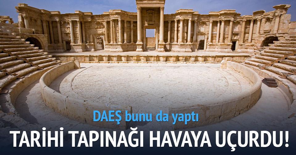 DAEŞ tarihi tapınağı uçurdu!