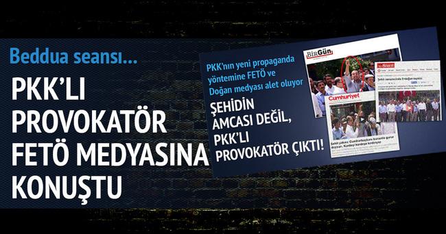 PKK'lı provokatör paralele konuştu