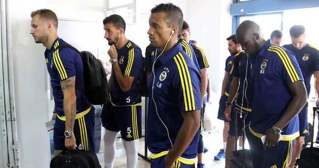 Fenerbahçe, İstanbul'a gitti