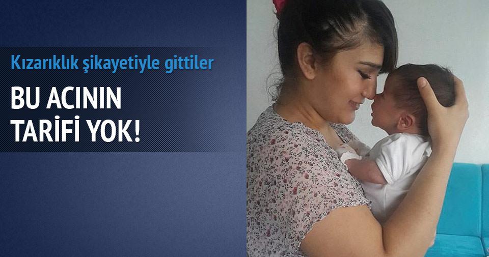 33 günlük bebek hastanede öldü!
