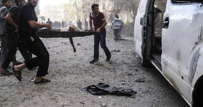 Esed güçleri Guta'da sivilleri vurdu