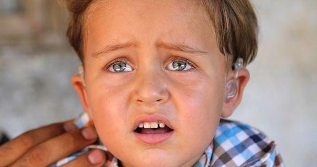 Varil bombaları küçük Adnan'ın hayatını kararttı