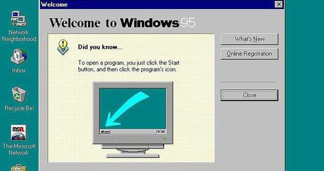 Windows 95 20. yılını kutluyor