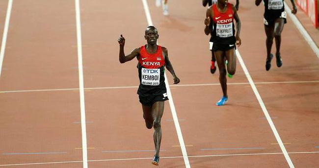 Kemboi 4. kez dünya şampiyonu