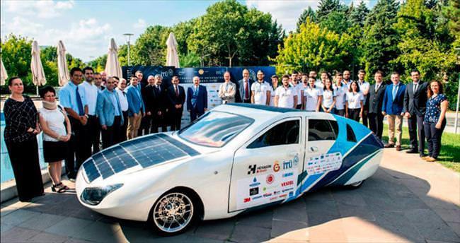 Güneş enerjili ilk aile arabası