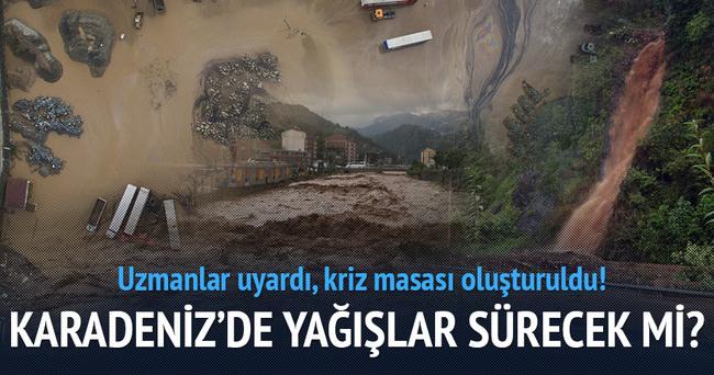 Karadeniz'de son 50 yılın sel felaketi yaşandı!