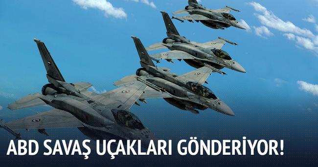 ABD Doğu Avrupa'ya savaş uçakları gönderiyor
