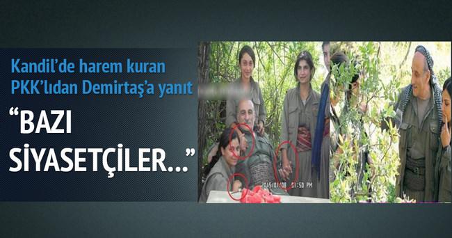 PKK'dan Demirtaş'a çok sert yanıt