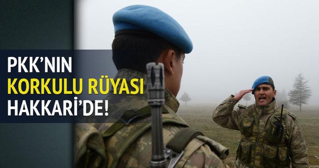 PKK'nın korkulu rüyası Hakkari'de!