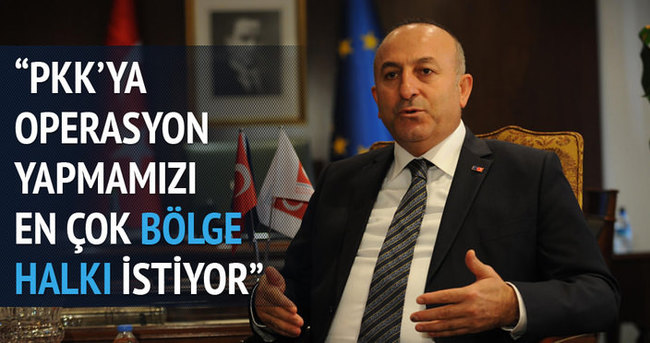 Bölge halkı PKK operasyonlarını destekliyor