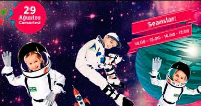 Optimum'da küçük astronotlar atölyesi