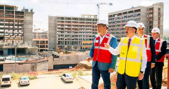 Şehir Hastanesi 1 yıl sonra hazır