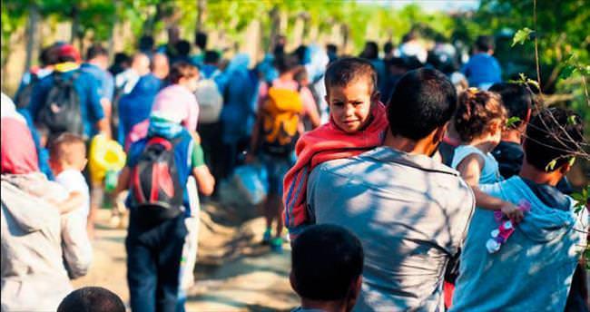 Duvar örülmeden göçmen akını