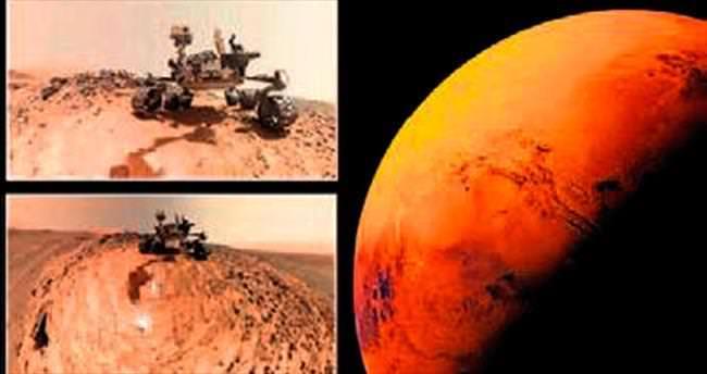 Mars'ta sanıldığından daha fazla su var
