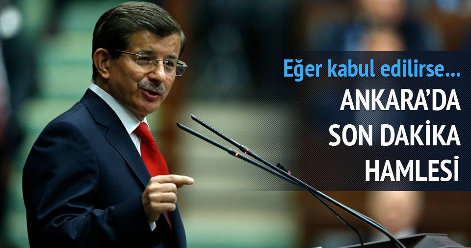Başbakan Davutoğlu'ndan müthiş hamle