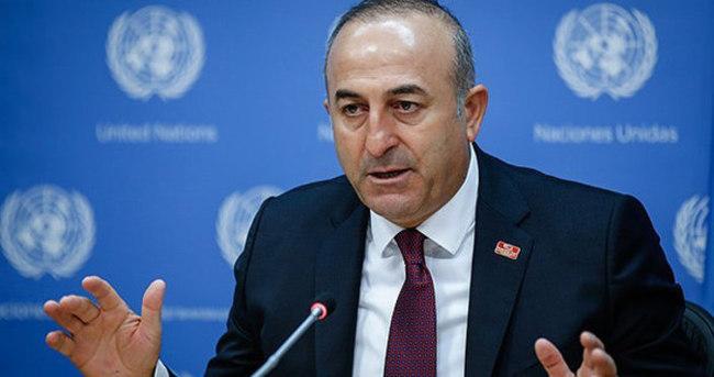 Bakan Çavuşoğlu: Aşağılıklar!