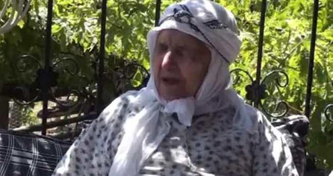 Şehidin büyük anneannesi öldü