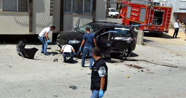 Suriyeli muhalif komutana Hatay'da bombalı saldırı