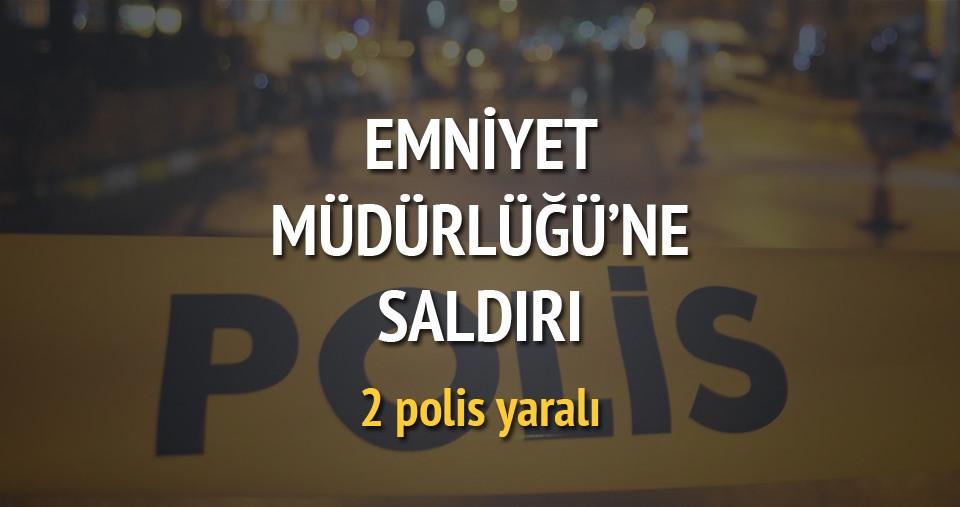 Diyarbakır'da emniyete saldırı: 2 yaralı
