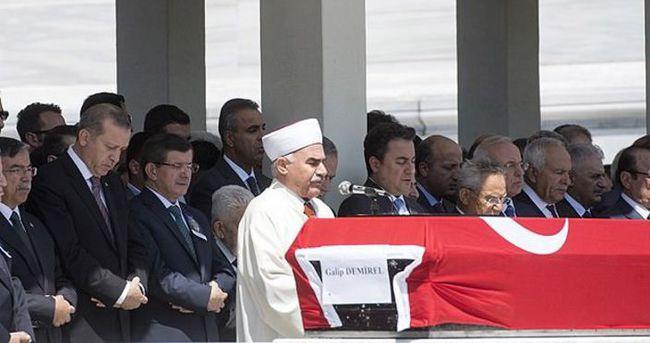Eski Milletvekili Galip Demirel son yolculuğuna uğurlandı