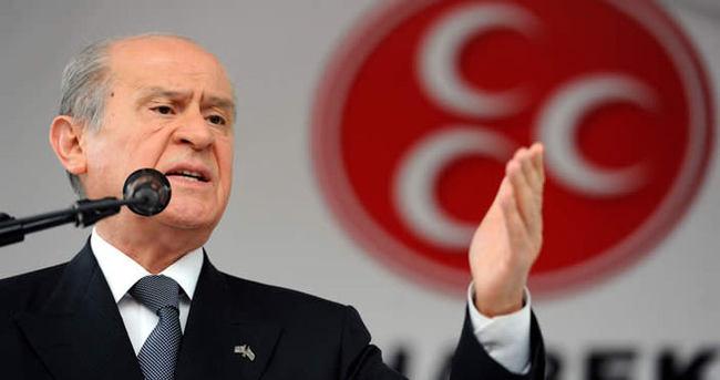 Devlet Bahçeli Türkeş hakkında açıklama yaptı!