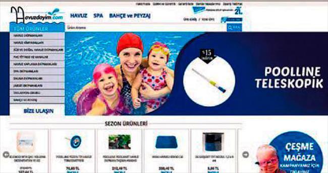 Pekcan Havuz'da online alışveriş