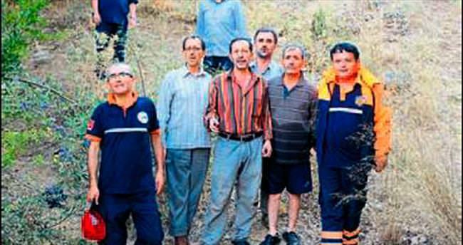 Ormanda gezerken kaybolanlar bulundu
