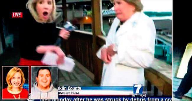 Muhabir ve kameraman canlı yayında öldürüldü