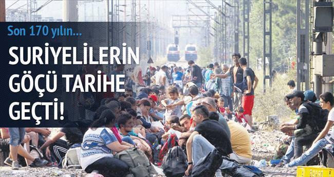Dördüncü kez en büyük göç akını