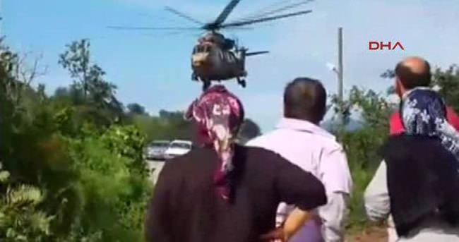 Mahsur vatandaşlar 3 gün sonra kurtarıldı