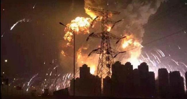 Çin'deki patlamayla ilgili 12 kişi tutuklandı