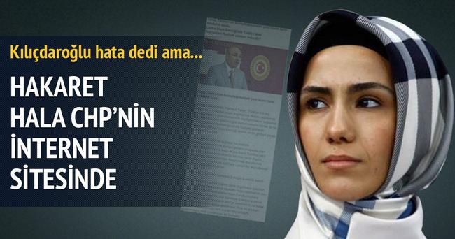 Kılıçdaroğlu'ndan Sümeyye Erdoğan'a iftiraya ilk açıklama