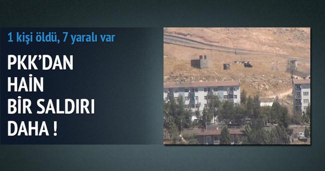 Cizre'de PKK saldırısı: 1 ölü 3'ü asker 7 yaralı