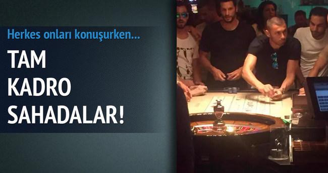 Galatasaraylı futbolcular kumarda!