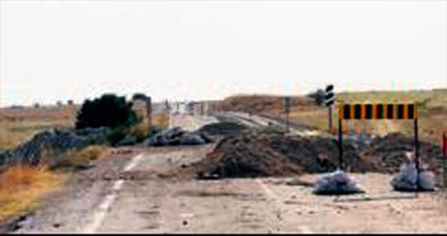 Uruş yoluna yeni köprü